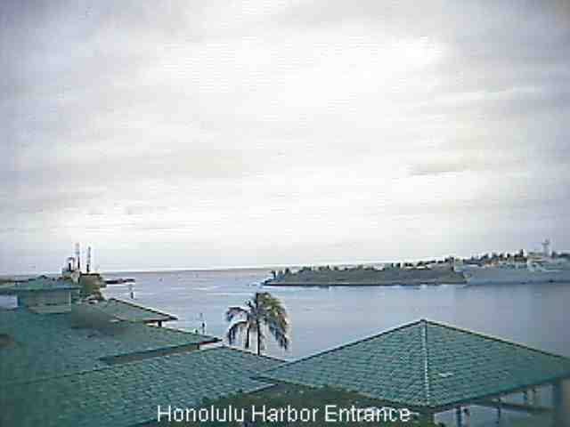 Webcam For The Port Of Honolulu
